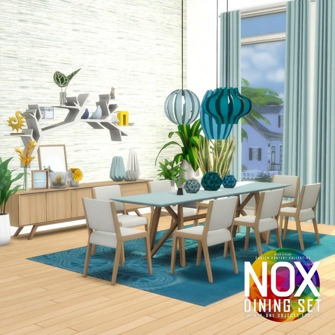 Nox Dining Set Redux at Simsational Designs image 6020 670x670 Sims 4 Updates