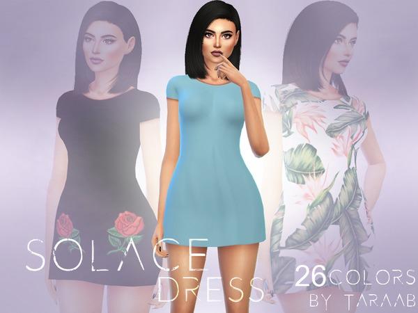 Solace Dress by taraab at TSR image 6113 Sims 4 Updates