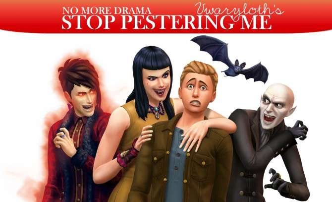 Vampires Stop Pestering Me by Vwaryloth at Mod The Sims image 6119 670x407 Sims 4 Updates