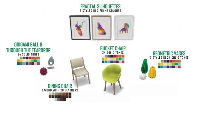 Nox Dining Set Redux at Simsational Designs image 6221 670x377 Sims 4 Updates