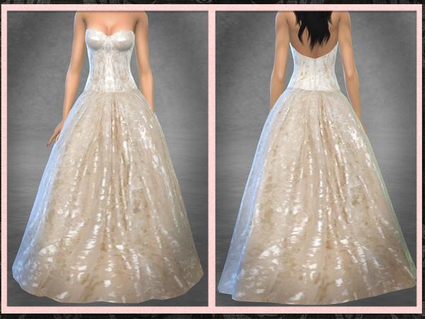 El Dorado Bridal Gown by Five5Cats at TSR image 630 Sims 4 Updates