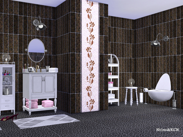 Bathroom Potterybarn by ShinoKCR at TSR image 632 Sims 4 Updates