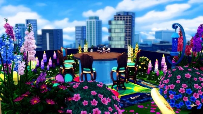 Sims 4 Lovely Morning Balcony at Sanjana sims