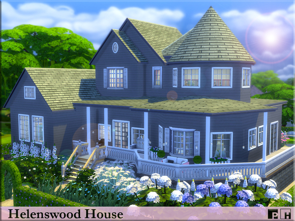 Helenswood House by Pinkfizzzzz at TSR image 659 Sims 4 Updates