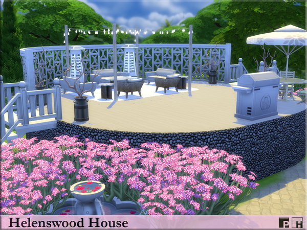 Helenswood House by Pinkfizzzzz at TSR image 669 Sims 4 Updates