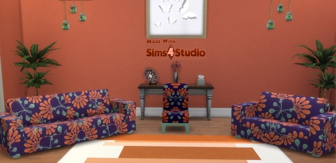 Modern Chair Sofa LoveSeat SET by wendy35pearly at Mod The Sims image 68 670x325 Sims 4 Updates