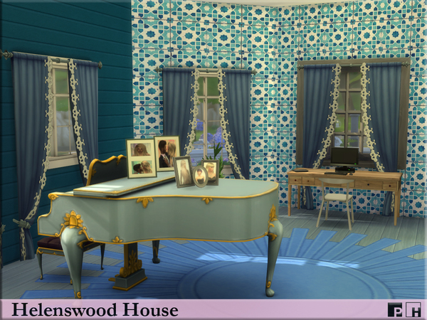 Helenswood House by Pinkfizzzzz at TSR image 689 Sims 4 Updates