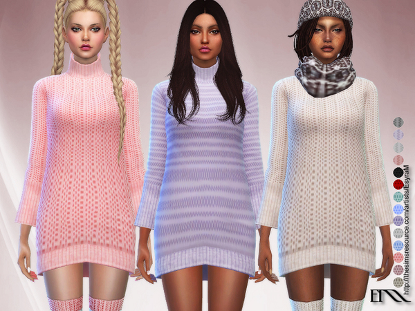 Trendy Long Pullover by EsyraM at TSR image 698 Sims 4 Updates