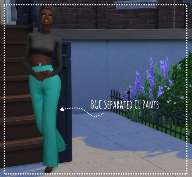 Sims 4 Two BGC mesh edits and two City Living recolors by leeleesims1 at SimsWorkshop