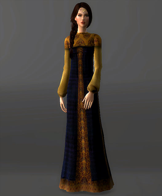 Refugee Disguise Dress Padme Amidala at Magnolian Farewell image 7014 Sims 4 Updates