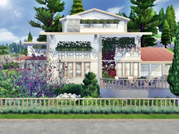 Sims 4 Ariel Cottage by Moniamay72 at TSR