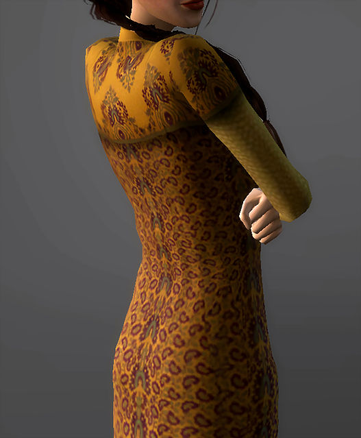 Refugee Disguise Dress Padme Amidala at Magnolian Farewell image 7118 Sims 4 Updates