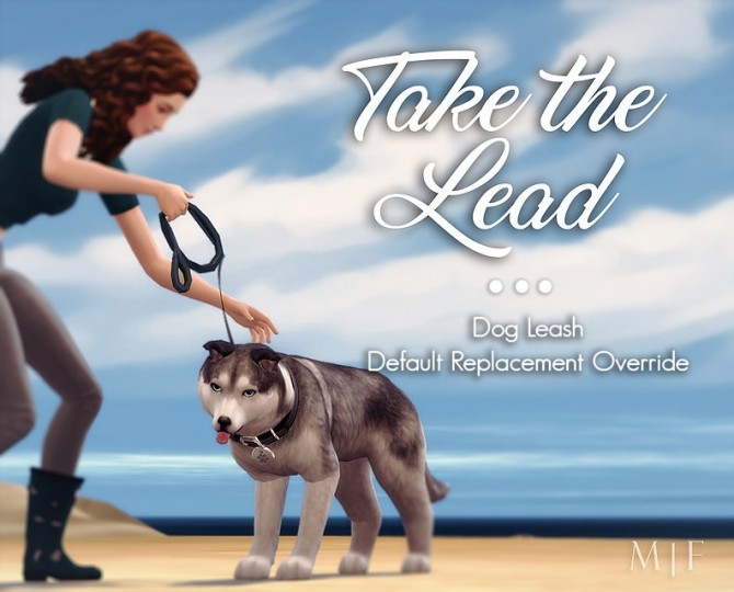 Sims 4 Take the Lead | Dog Leash Override at Magnolian Farewell