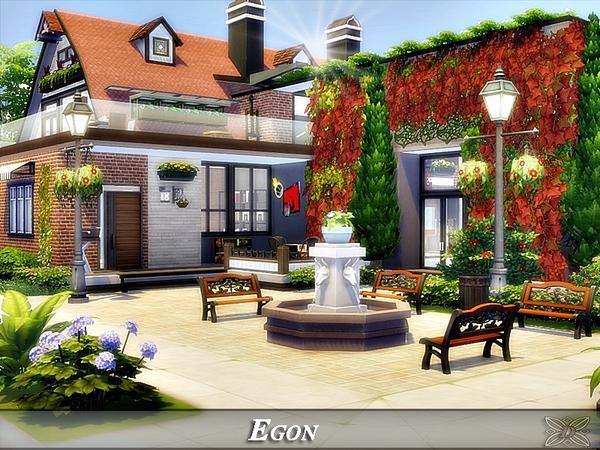 Egon modern home No CC by Danuta720 at TSR image 714 Sims 4 Updates