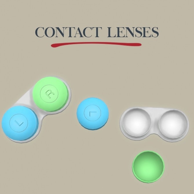 Contact Lenses at Leo Sims image 717 670x670 Sims 4 Updates