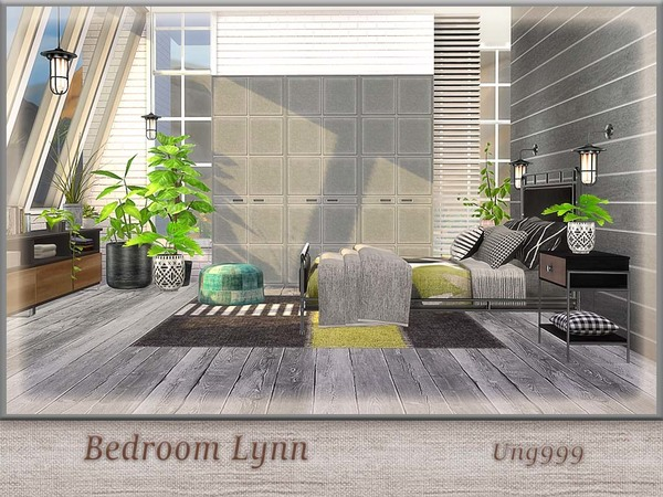 Bedroom Lynn by ung999 at TSR image 719 Sims 4 Updates