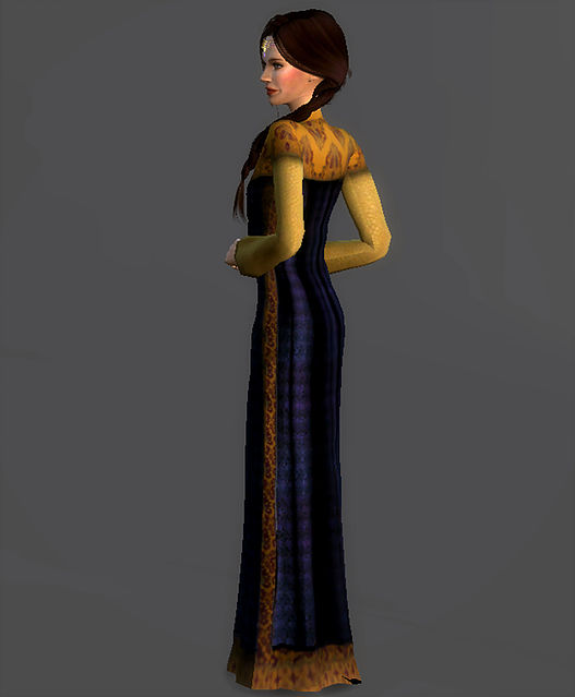 Refugee Disguise Dress Padme Amidala at Magnolian Farewell image 7216 Sims 4 Updates