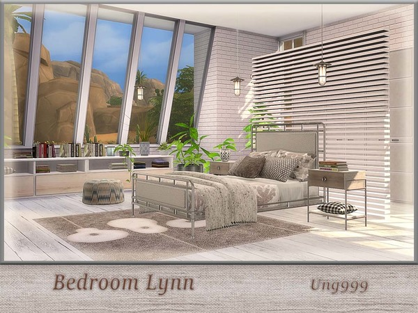 Bedroom Lynn by ung999 at TSR image 725 Sims 4 Updates