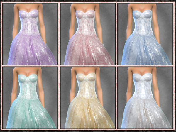 El Dorado Bridal Gown by Five5Cats at TSR image 730 Sims 4 Updates