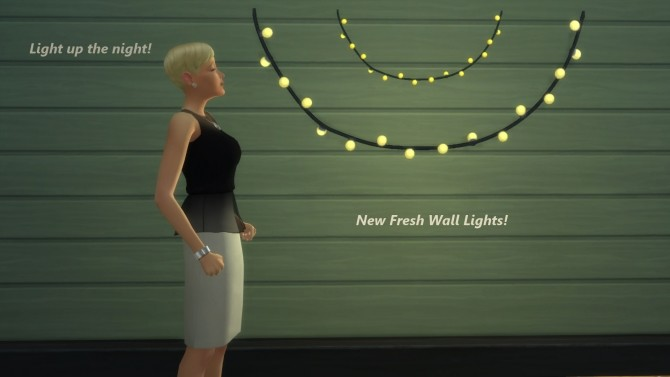 Fresh Wall Lights by Snowhaze at Mod The Sims image 731 670x377 Sims 4 Updates