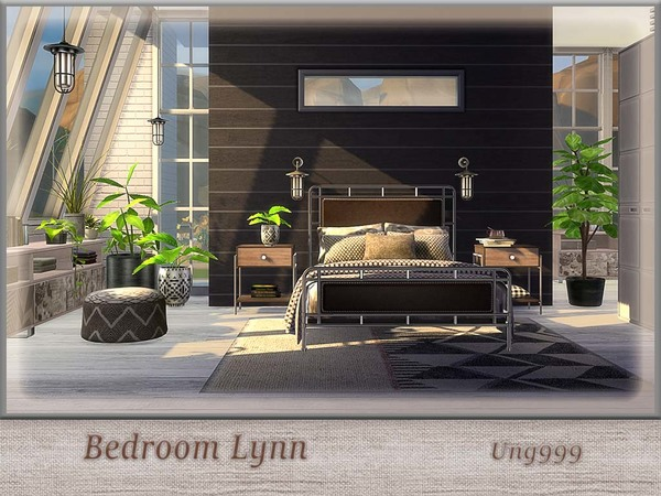 Bedroom Lynn by ung999 at TSR image 735 Sims 4 Updates