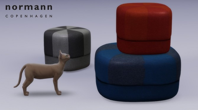 Circus Pouf at Meinkatz Creations image 738 670x374 Sims 4 Updates