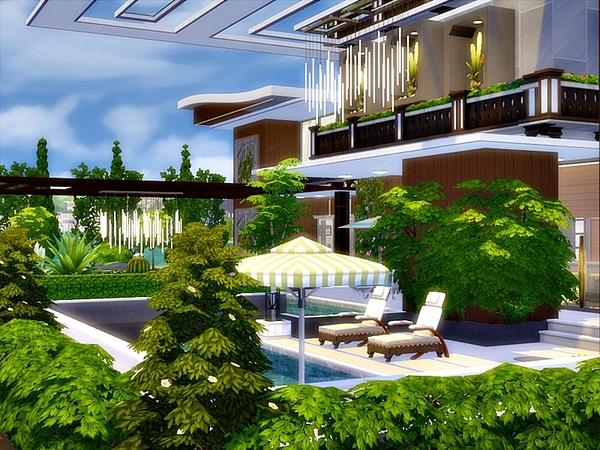 Modern Julia house by Danuta720 at TSR image 739 Sims 4 Updates