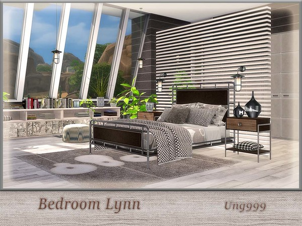 Bedroom Lynn by ung999 at TSR image 745 Sims 4 Updates