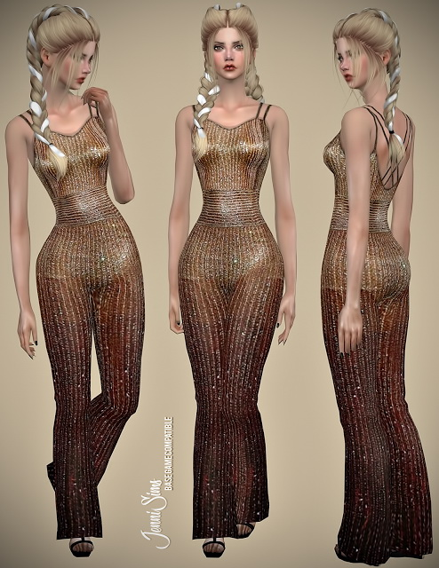 Sims 4 Dynamic Bodysuits at Jenni Sims