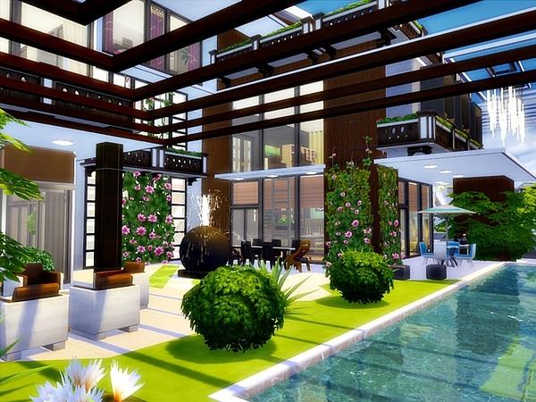 Modern Julia house by Danuta720 at TSR image 748 Sims 4 Updates
