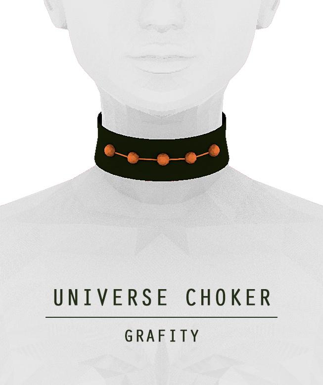 UNIVERSE CHOKER at Arthurlumierecc – AL image 756 Sims 4 Updates