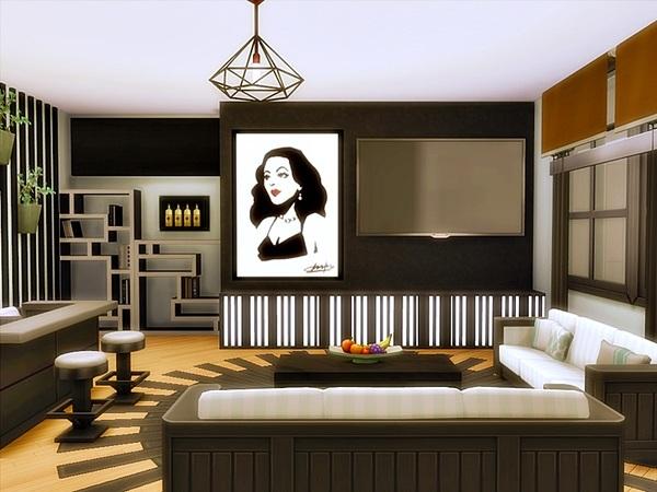 Modern Julia house by Danuta720 at TSR image 759 Sims 4 Updates