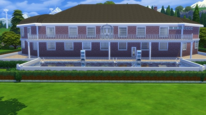 Sims 4 Preston Manor by Nuttchi at Mod The Sims