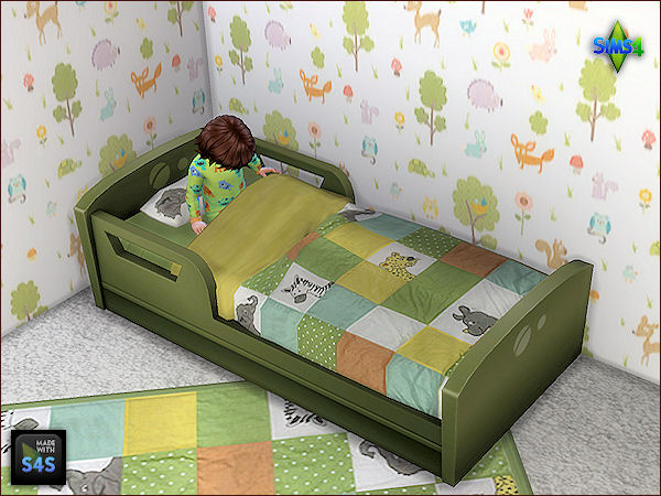 6 beddings for toddlers and 6 matching rugs at Arte Della Vita image 7619 Sims 4 Updates
