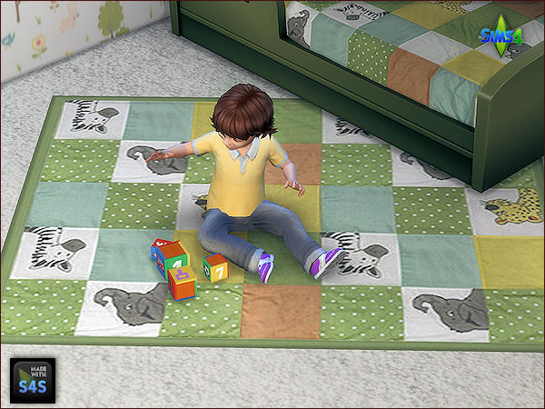 6 beddings for toddlers and 6 matching rugs at Arte Della Vita image 7719 Sims 4 Updates