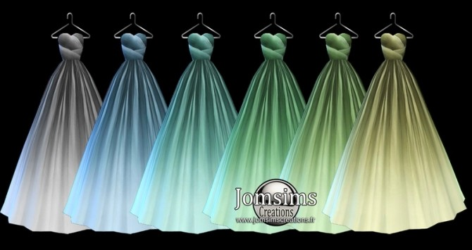 Denia dress at Jomsims Creations image 773 670x355 Sims 4 Updates
