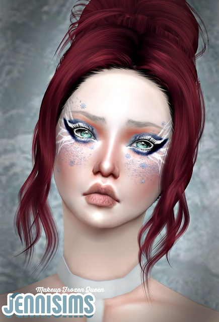 Sims 4 Frozen Queen EyeShadow at Jenni Sims