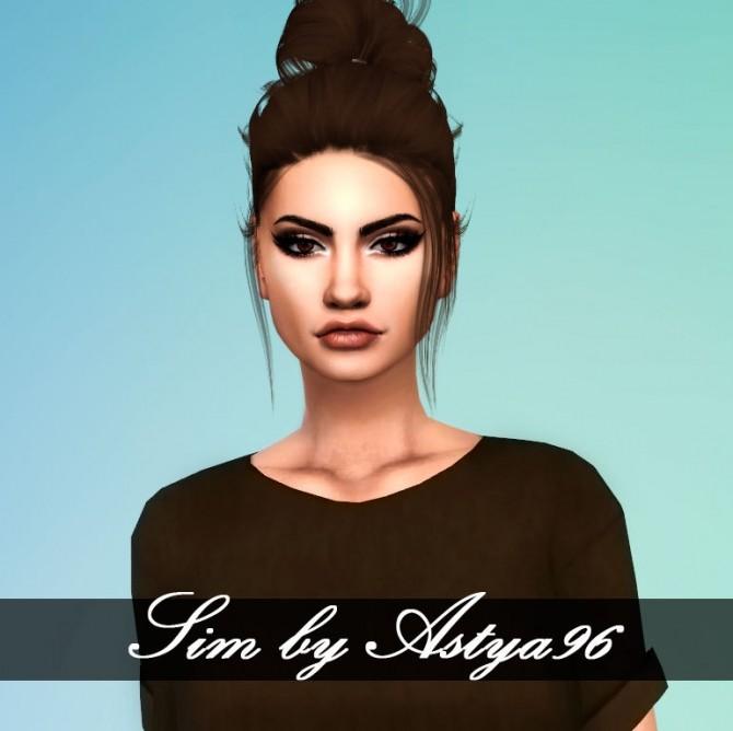 Sims 4 Sim Tera Engy at Astya96