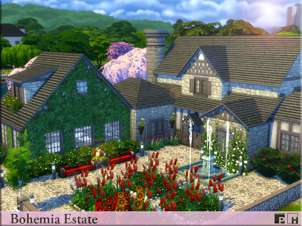Bohemia Estate by Pinkfizzzzz at TSR image 81 Sims 4 Updates