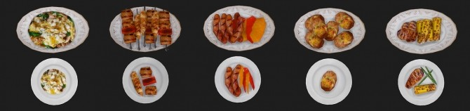 Food texture overhaul at Asteria Sims image 8110 670x158 Sims 4 Updates