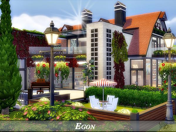 Egon modern home No CC by Danuta720 at TSR image 813 Sims 4 Updates