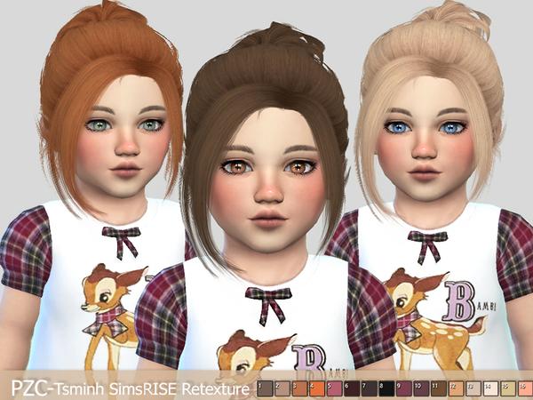 Sims 4 PZC TsminhSims Rise Retexture by Pinkzombiecupcakes at TSR