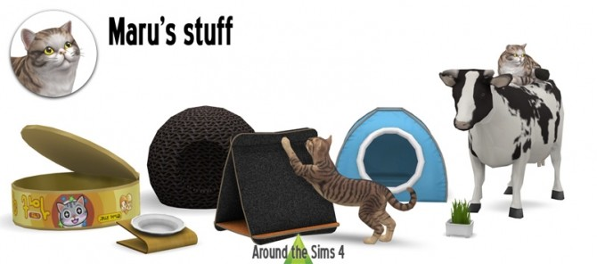 Sims 4 Marus stuff by Sandy at Around the Sims 4