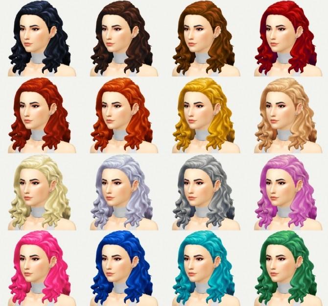 Elizabeth hair at KotCatMeow image 837 670x624 Sims 4 Updates