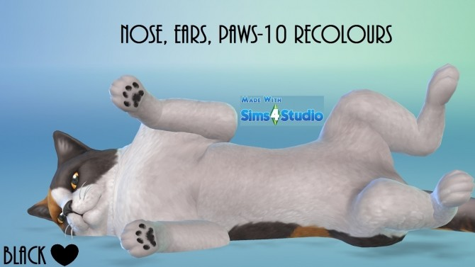Cats and Dogs Nose, Ears and Paws 10 Recolours by wendy35pearly at Mod The Sims image 838 670x377 Sims 4 Updates