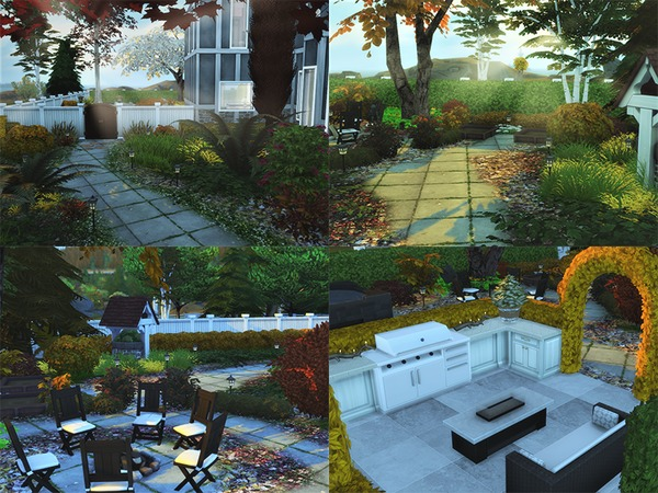 Euro Glam house by circasuzanne at TSR image 840 Sims 4 Updates