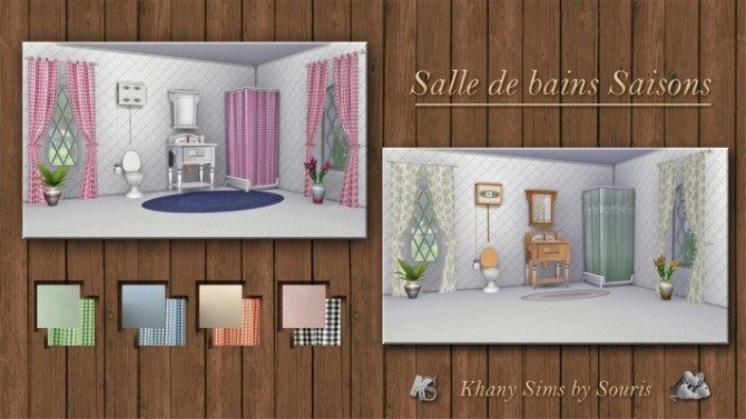 Season bathroom by Souris at Khany Sims image 8411 670x377 Sims 4 Updates