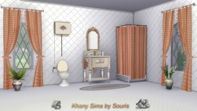 Season bathroom by Souris at Khany Sims image 8512 670x377 Sims 4 Updates