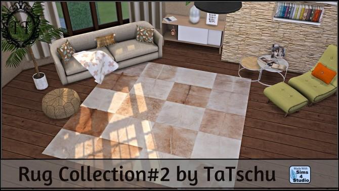Sims 4 Rug Collection #2 at TaTschu`s Sims4 CC
