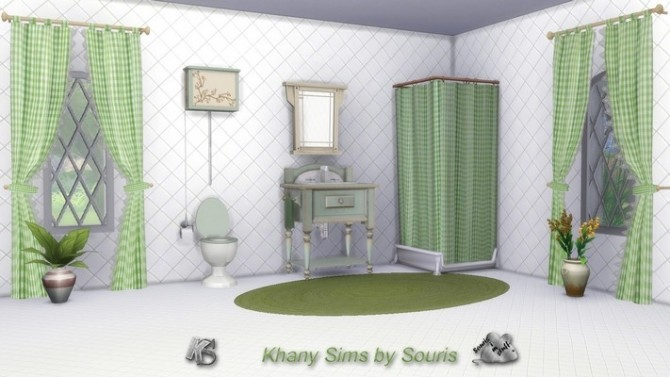 Season bathroom by Souris at Khany Sims image 8611 670x377 Sims 4 Updates